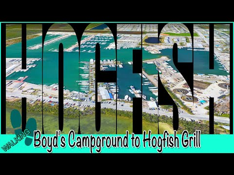 Hogfish Bar & Grill Key West | Walking From Boyd's Campground To Hogfish Grill W Our Review!
