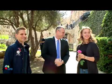 Special Tour Guide For 3 Millionth Tourist To Israel