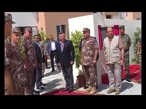 ضابط بالجيش يفاجىء الملك عبدالله بقصيدة