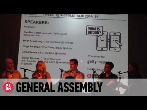 General Assembly Panel On Bitcoin And The Future Of Currency