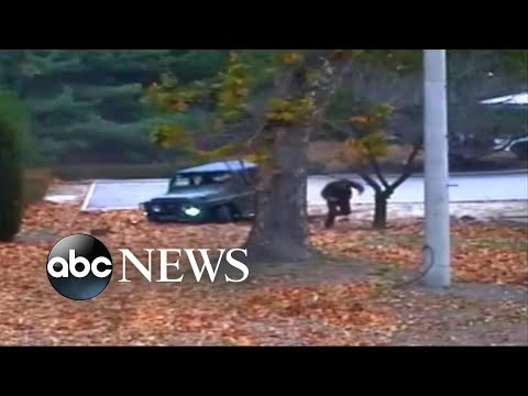 A soldier escapes from North Korean to South Korea