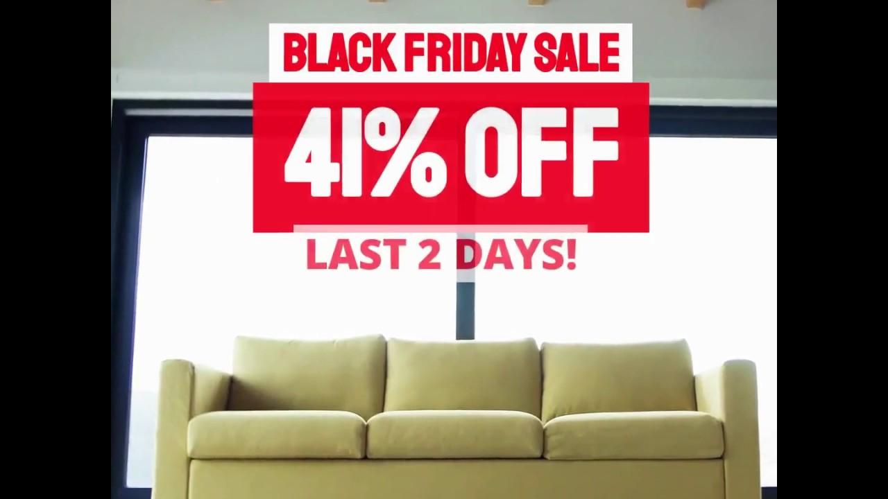 Only 2days Left For Black Friday Sale Mobel Furniture Youtube