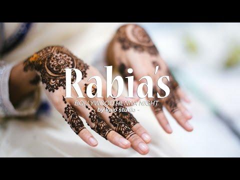 Rabia's Bollywood Henna Night by Top Wedding Videographer Malaysia, Kaio Studio