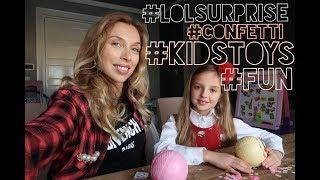 Открываем новых КУКОЛОК Surprise LOL Confetti | пополняем коллекцию LOL Surprise куколок
