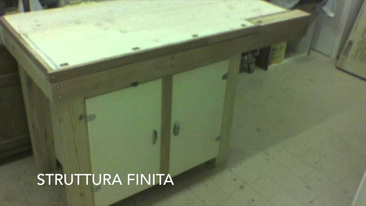 Banco Da Lavoro Per Legno : Banco da lavoro in legno costruzione workbench construction