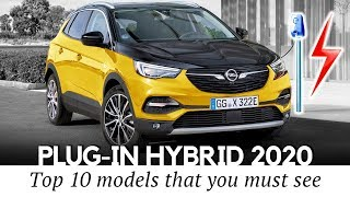 Top 10 Upcoming Plug-in Hybrid Cars Bringing More Electric Range in 2020
