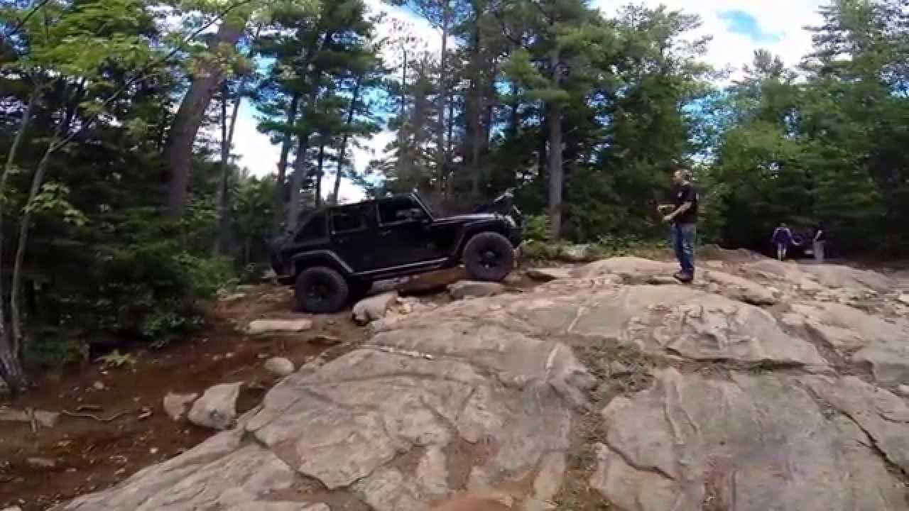 crystal lake ontario jeep jk off road youtube. Black Bedroom Furniture Sets. Home Design Ideas