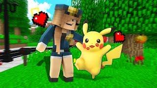 KIZ POLİS PİKACHU ÖPÜŞTÜ! 😱 - Minecraft