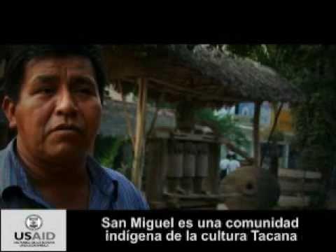 USAID Bolivia apoyando las capacidades locales de la comunidad Tacana San Miguel