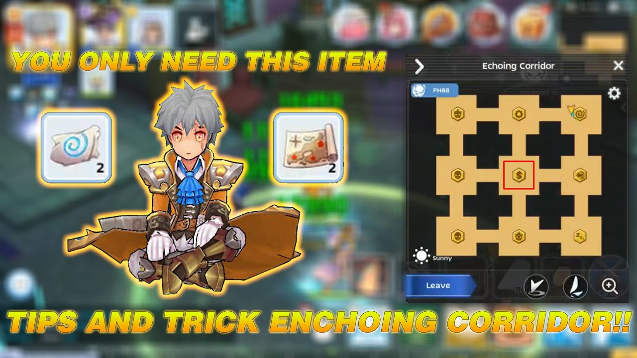 easy tips and trick play echoing corridor ragnarok m
