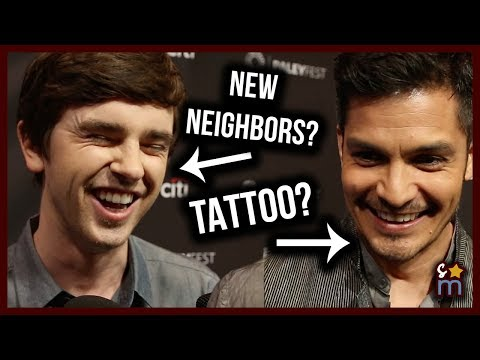 THE GOOD DOCTOR Cast Talk THAT TATTOO, Neighbors & Craziest Medical Cases in Season 1   Paleyfest