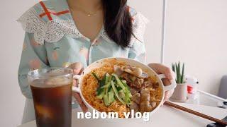 ENG) vlog 자취생 브이로그 냉장고 털어 요리하는…