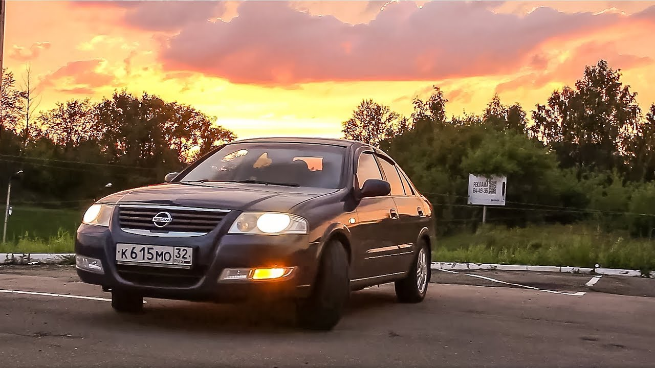 Тест драйв Nissan Almera Classic