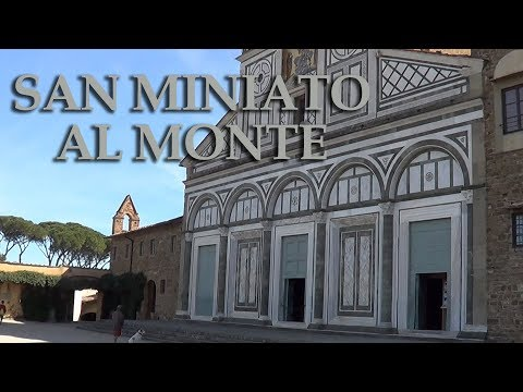 The Abbey of San Miniato al Monte in Florence Italy