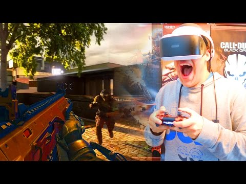 JUGANDO a CALL OF DUTY en REALIDAD VIRTUAL - COD VR