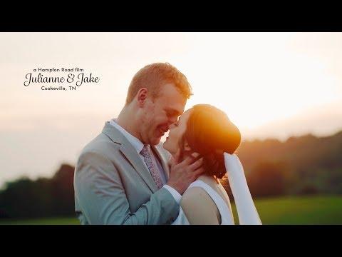 High School Sweethearts // Tennessee Wedding // Julianne & Jake (4K Wedding)