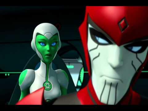 Green Lantern The Animated Series - Season 1: Aya and Razer Moments