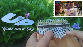 UP Theme Song 'Married life & Stuff we did'   Cover on Kalimba 15 Keys【By Daffa】| Relaxing Music