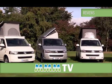 Volkswagen T5 campervans compared to their rivals