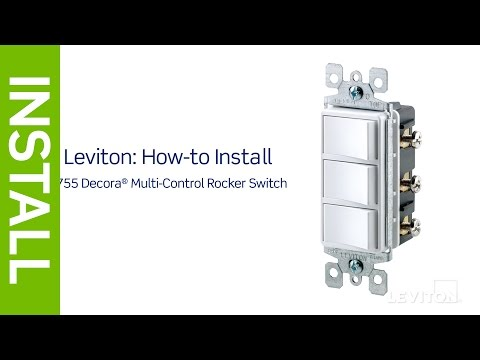 wiring diagram how to wire tm8111 switch leviton presents how to install a decora combination device with  how to install a decora combination