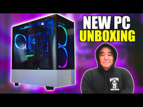 Unboxing My New PC (NZXT) | Relaxing ASMR