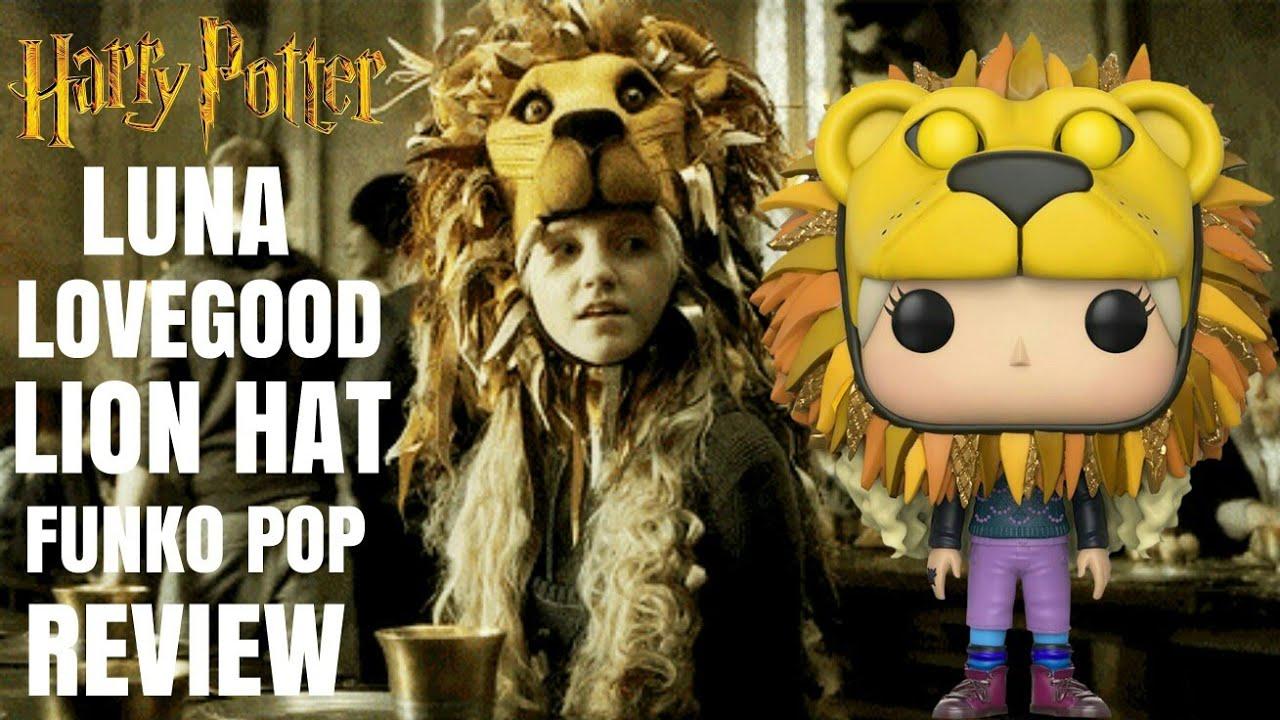 HARRY POTTER Luna lovegood with Lion hat Funko pop Review ...