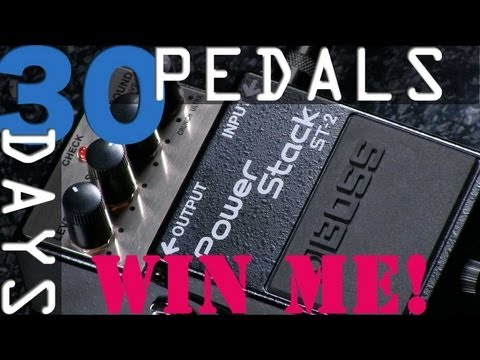 Boss Power Stack ST-2  - 30 Days, 30 Pedals - WIN!