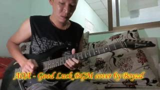 (Backing Track) AOA (에이오에이) - Good Luck (굿럭) Guitar Cover By Boyzd