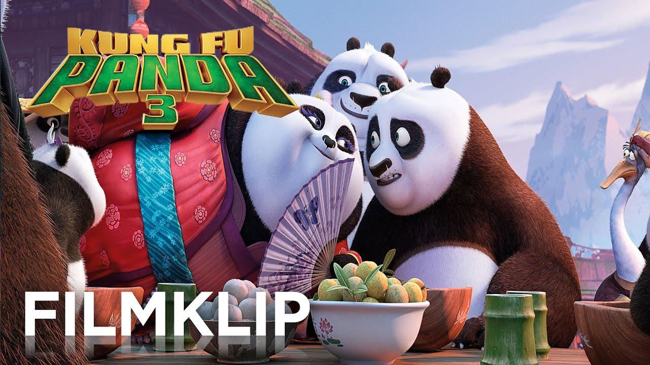 Kung Fu Panda 3 Officiel Trailer 2 Hd Danmark Youtube