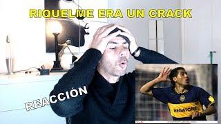REACCIÓN de un HINCHA MADRIDISTA a JUAN ROMAN RIQUELME / ULTIMATE LEGENDARY SKILLS / THE LAST 10