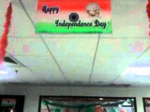 Independence Day Theme Decoration Youtube