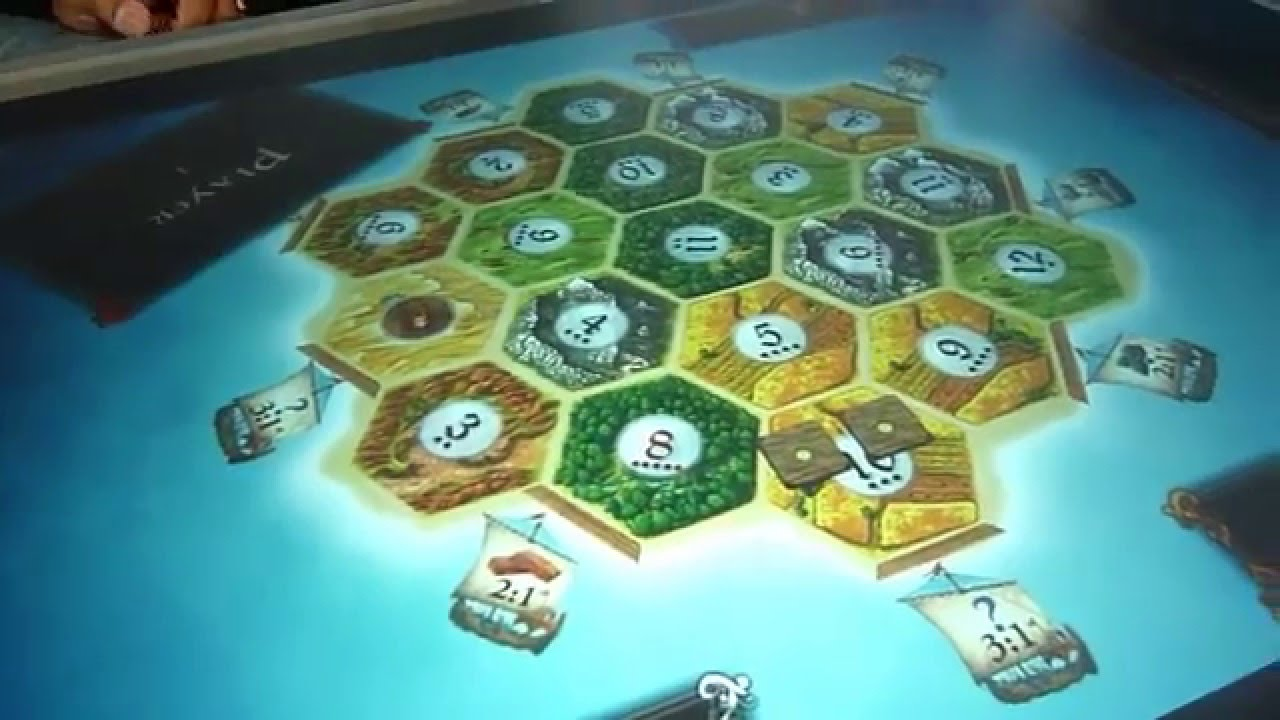 settlers of catan on microsoft surface from vectorform youtube