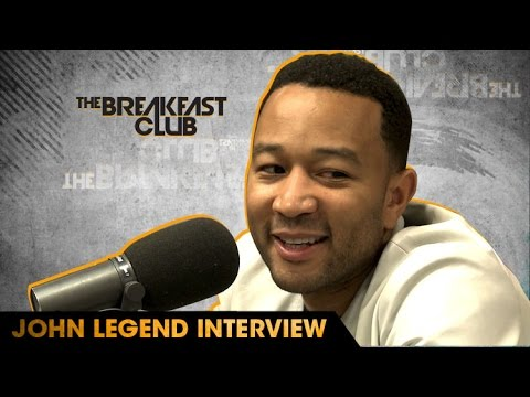 John Legend Interview With The Breakfast Club (9-29-16)