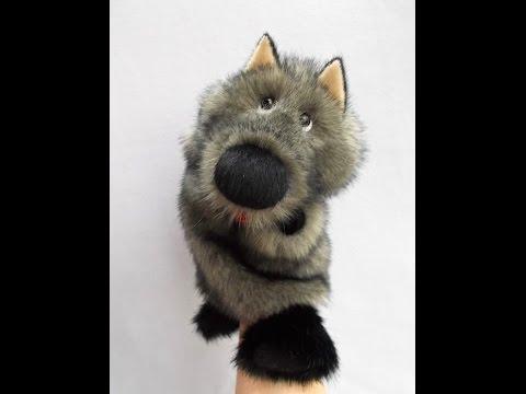 Игрушка волк на руку своими руками