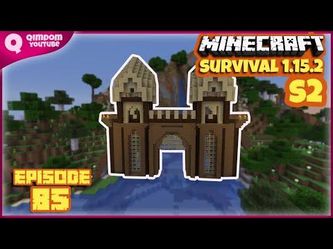 Membuat Gerbang Masuk Ke Pulau Bajak Laut | Minecraft Survival Indonesia S2 Ep 85 !!!