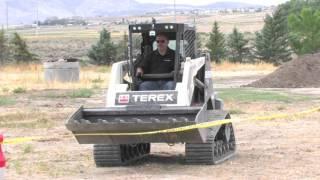 Terex Skid Steer Demo -- Diamond Rental
