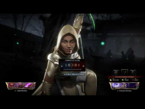 Friendly Tip: Don't Tap Button Once the Round Is Over | Mortal Kombat 11 Online Gameplay |