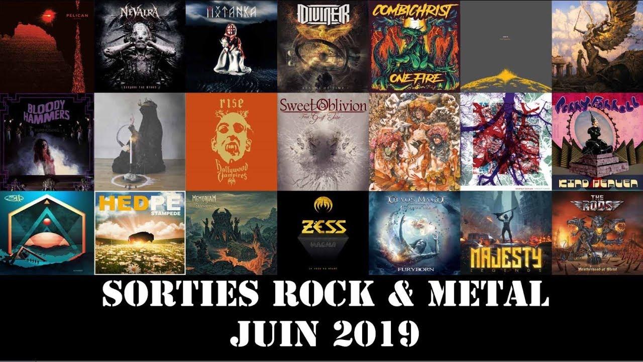 Sorties Albums Rock & Metal : Juin 2019
