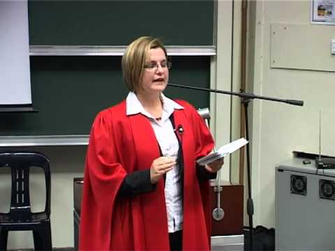 UCT's Prof Hanri Mostert speaks on the challenges of South A