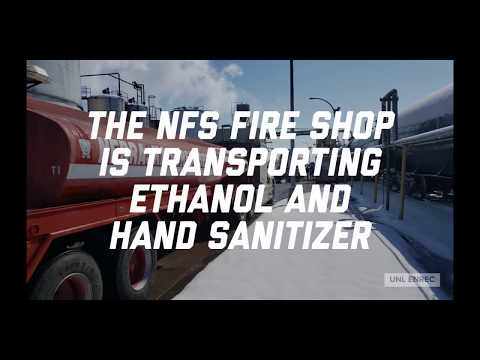 Nebraska Forest Service Fire Shop Assisting with Transporting Ethanol and Hand Sanitizer