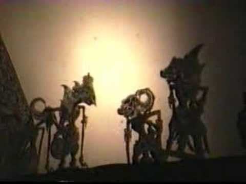 Indonesian Shadow Puppet Show Travel Video