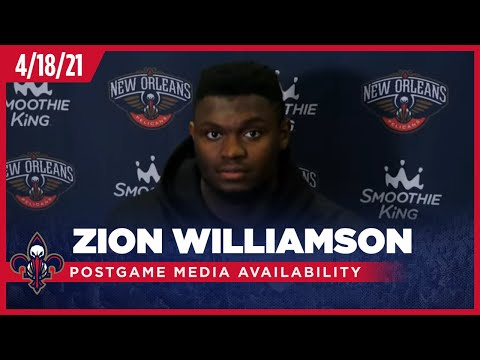 Zion Williamson on the OT loss, playing in Madison Square Garden | Pelicans-Knicks Postgame