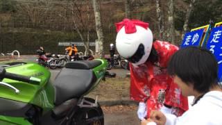 憧れの来夢先輩のバイクにホワイトベースステッカーを貼ってしまった! thumbnail
