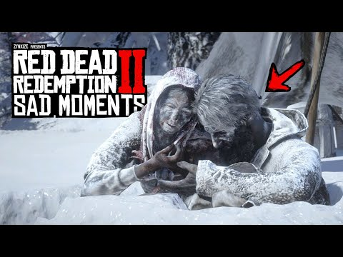 The SADDEST Moments in Red Dead Redemption 2 |