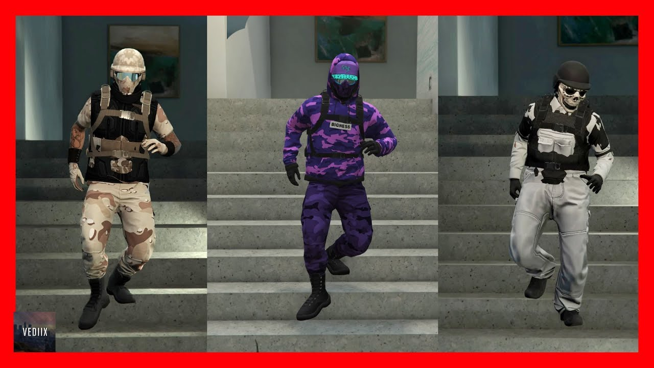 GTA 5 Online | TOP 3 RnG OUTFITS | MODDED OUTFITSud83dude0dud83dude31| German - YouTube
