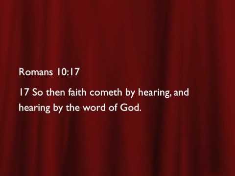 Healing Scriptures Part 1 (Pastor David Oaks)