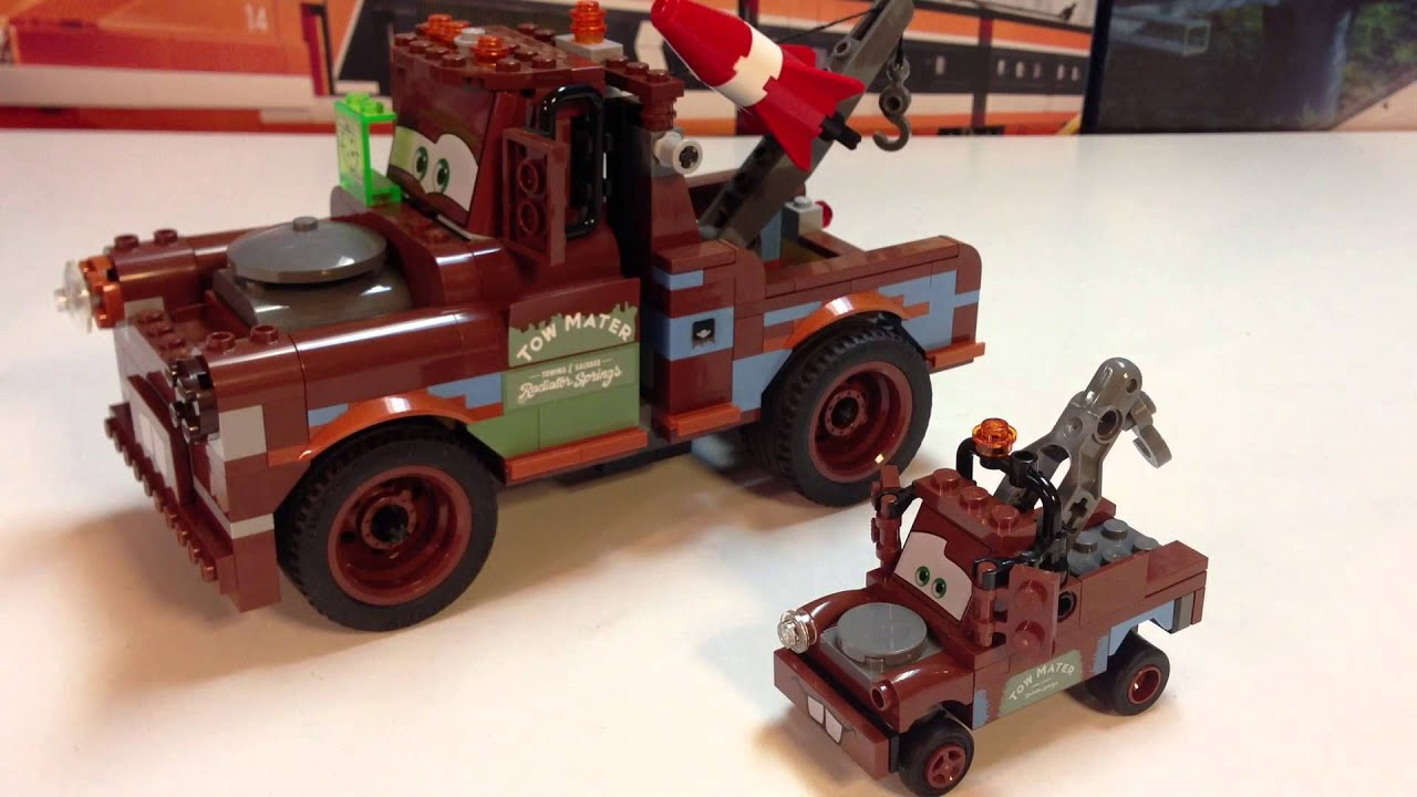 Lego Cars 2 8201 Classic Mater Disney Pixar Tow Mater Youtube