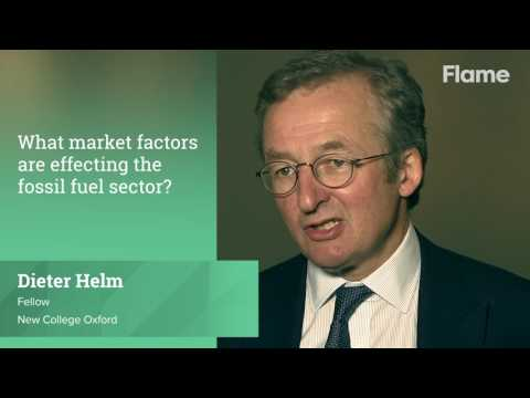 Dieter Helm: What market factors are effecting the fossil fuel sector?
