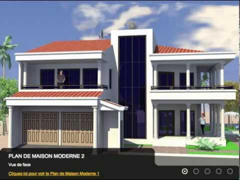 Excellents plans de maison moderne pour votre confort for Plan des villas modernes