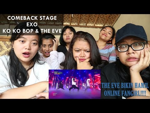 EXO - THE EVE || COMEBACK STAGE Reaction (Indonesia)